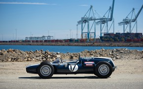 Picture Cooper, Port, Formula 1, Cranes, Classic car, 1961, Sports car, Cooper T54, Indianapolis 500, Indianapolis …