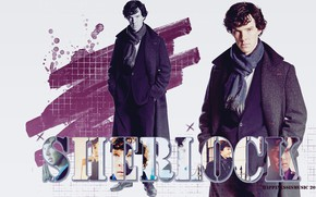 Picture letters, collage, Sherlock Holmes, Benedict Cumberbatch, Benedict Cumberbatch, Sherlock, Sherlock BBC, Sherlock (TV series), by …
