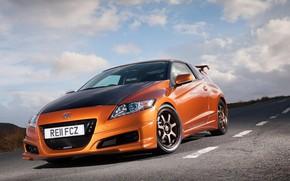 Picture Orange, Honda, cars, CR-Z, Mugen