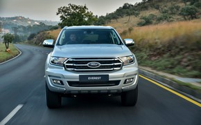 Picture Ford, front view, Everest, 4WD, XLT, 2019