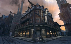 Picture city, the city, street, the game, art, Dishonored, Danuoll, pub, Arkane Studios