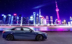 Picture China, Mercedes-Benz, Shanghai, AMG, 4MATIC, A-Class, 2019, A35 L