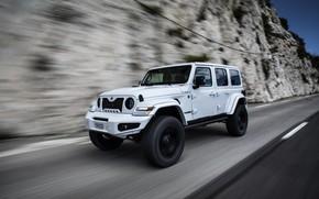 Picture rock, speed, Wrangler, Jeep, Unlimited, 2019, Militem, Ferōx
