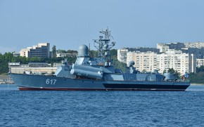 Picture ship, the black sea, rocket, Mirage, Sevastopol
