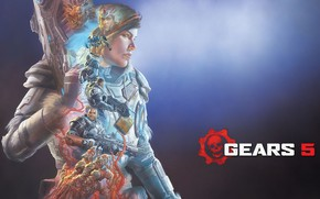 Picture Microsoft, The Coalition, Gears 5, Gears of war 5