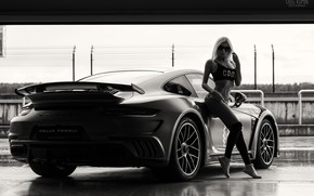 Picture model, shorts, sneakers, figure, glasses, hairstyle, blonde, black and white, beauty, is, knee, t-shirt, car, ...