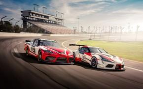 Picture Toyota, Supra, 2018, GR Supra Racing Concept, Xfinity