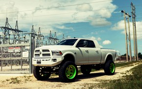 Picture White, Tuning, Truck, Ram, Off Road