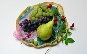 Picture pear, fruit, still life