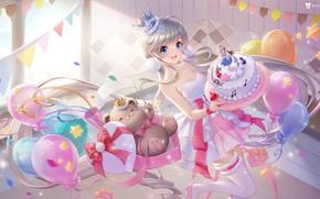 Picture balls, mood, toy, anime, art, bear, cake, children's, prazdna, Polaski, 叁乔居 3QSTUDIO, QQ-Hyun Dance star …