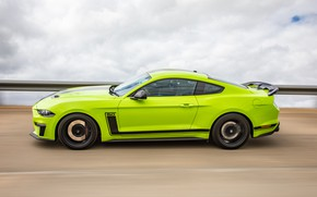 Picture speed, Mustang, Ford, side view, AU-spec, R-Spec, 2019, Australia version