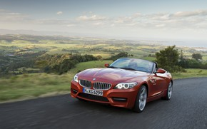 Picture road, landscape, BMW, Roadster, 2013, E89, BMW Z4, Z4, sDrive35is