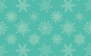 Picture snowflakes, background, pattern