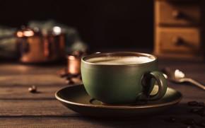 Picture coffee, Breakfast, Cup, Iryna Melnyk