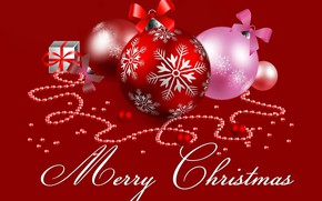 Picture balls, graphics, Christmas, New year