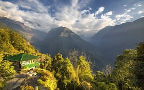 Picture mountains, Nepal, Annapurna