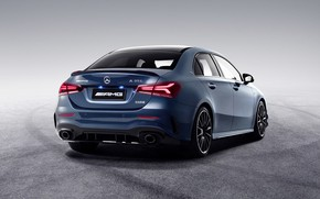 Picture China, Mercedes-Benz, rear view, AMG, 4MATIC, A-Class, 2019, A35 L