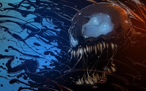 Picture Language, Teeth, Art, Comics, MARVEL, Concept Art, Venom, Venom, Symbiote, MARVEL Comics, Comic Art, Comics …