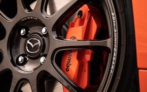 Picture Disk, Mazda, Icon, MX-5, Brake disc, 30th Anniversary Edition, Mazda MX-5, 2019, Mazda MX-5 30th …