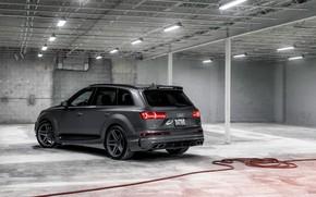 Picture rear view, ABBOT, Audi Q7, Vossen, 2017