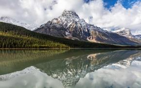 Picture Banff National Park, Alberta, Canada, Saskatchewan River Crossing
