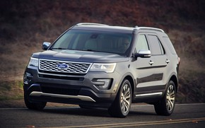 Picture road, Ford, SUV, Explorer, 2016