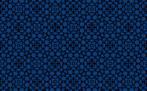 Picture blue, background, pattern, texture, ornament