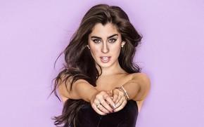 Picture look, girl, pose, hair, Lauren Jauregui