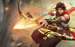 Picture bow, arrow, guy, Archer, Paladins