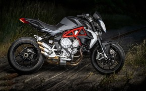 Wallpaper background, motorcycle, MV Augusta brutale 800