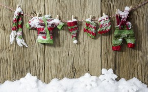 Picture winter, snow, decoration, New Year, Christmas, Christmas, wood, winter, snow, New Year, decoration, Merry