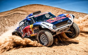 Picture Auto, Mini, Desert, Machine, Car, 300, Rally, Dakar, Dakar, Rally, Buggy, Buggy, X-Raid Team, MINI …