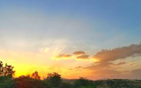 Picture colorful, sky, sunset, calm, kurdistan, کوردستان