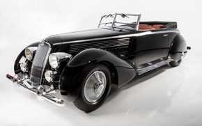 """Picture Convertible, Classic, Lancia, Chrome, Classic car, 1936, Piano, Lancia Astura Cabriolet, Type """"The Mouth"""""""