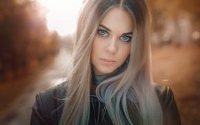 Picture look, girl, face, hair, portrait, Alexander Drobkov-Light, Carina Carina