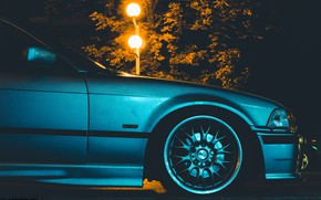 Picture bmw, e36, nightlight, bmwe36, 318is