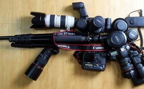 Picture machine, camera, cameras