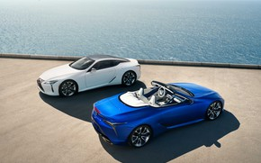 Picture Lexus, pair, Convertible, LC 500, 2021