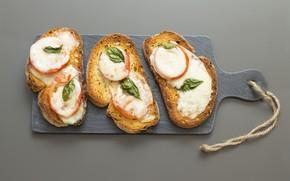 Picture table, Board, sandwiches
