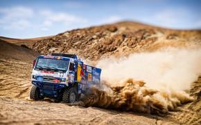 Picture Sand, Auto, Dust, Machine, Truck, Race, Master, Russia, Kamaz, Rally, Dakar, KAMAZ-master, Dakar, Rally, KAMAZ, …
