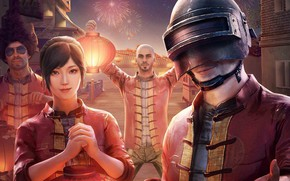 Picture characters, Chinese New Year, Playerunknown's Battlegrounds
