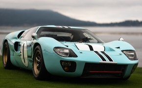 Picture 1966, LeMans, Ford GT40, Racing Car, Mk. II B