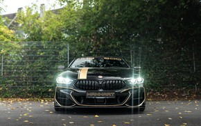 Picture lights, BMW, front view, Manhart, 8-Series, 2019, G15, M850i, XDrive, MH8 600