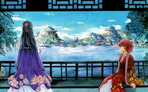 Picture girl, nature, Dawn Yona, Akatsuki no Yona, Jon, Yona of the Dawn