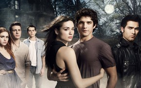Picture the series, characters, Teen wolf, The cub