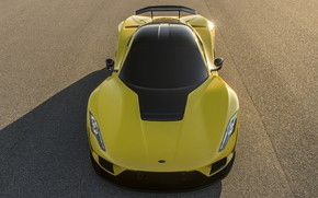 Picture supercar, the view from the top, Hennessey, hypercar, 2017, Venom F5