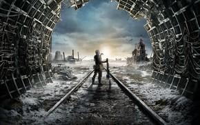 Wallpaper The game, Game, Metro Exodus