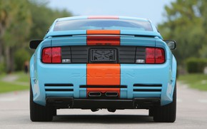 Picture Mustang, Ford, Saleen, rear view, Coupe, 2007, Extreme, S281