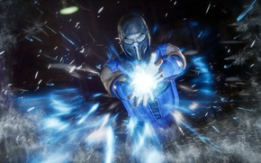 Picture ice, The game, ice, Fighter, Mortal Kombat, Sub-Zero, Sub-Zero, Mortal Kombat 11, Cremant