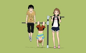 Picture children, the horizontal bar, Kamisama ga Uso wo Tsuku